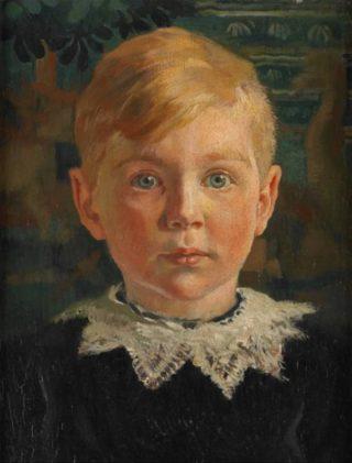 Jeugdportret van Joseph Luns (Rijksmuseum)