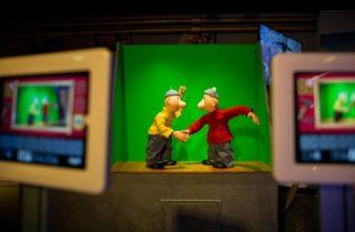 Bezoekers kunnen zelf een B&B stopmotion filmpje maken