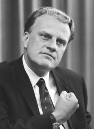 Billy Graham in april 1966