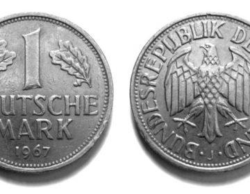 D-Mark uit 1967 (wiki)