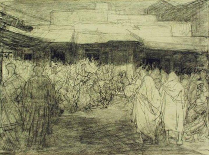 De Moorse markt Jacobus van Looy -  Stichting Jacobus van Looy