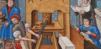 De uitvinding van de boekdrukkunst
