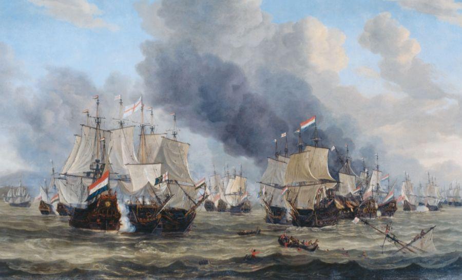 De zeeslag bij Livorno (1653), een indirect gevolg van het Brits mercantilisme
