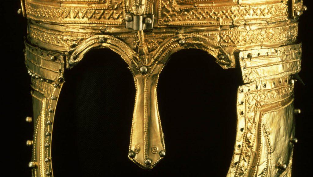 Detail van de Peelhelm (RMO)