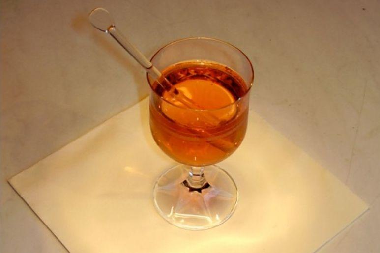 Een glas met grog - cc