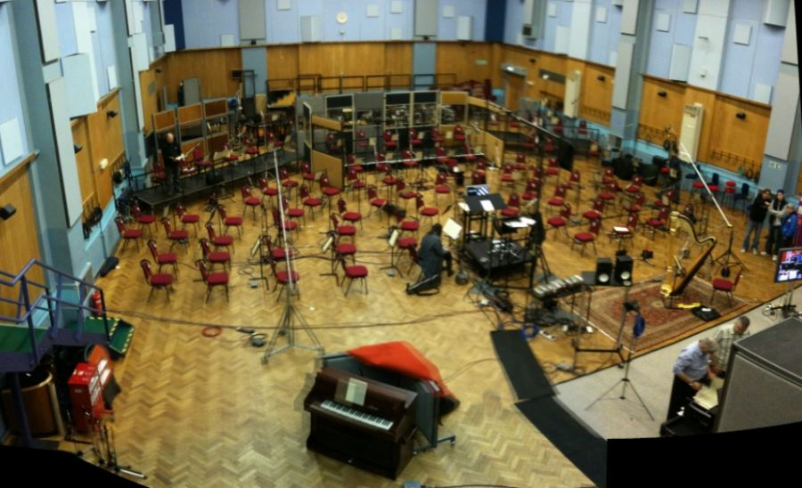 Een van de studio's aan Abbey Road (CC BY 2.0 - David Boyle - wiki)