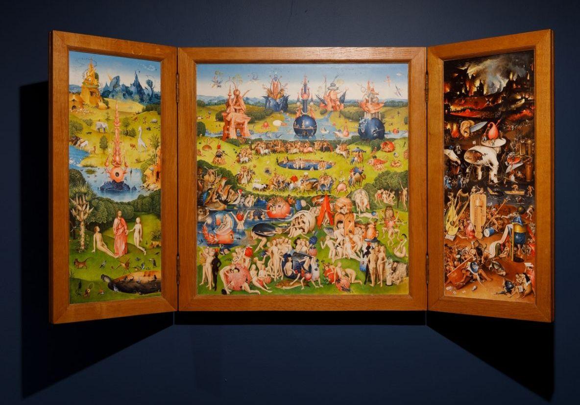 Egas' kopie van 'De Tuin der Lusten' (Stadsmuseum Harderwijk)