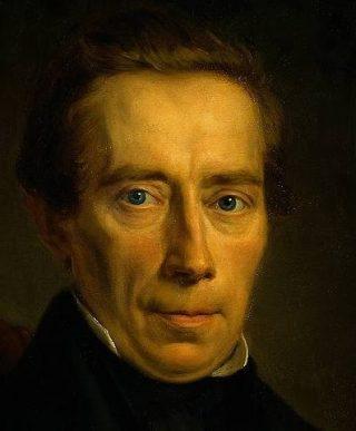 Johan Rudolph Thorbecke, portret door Johan Heinrich Neuman