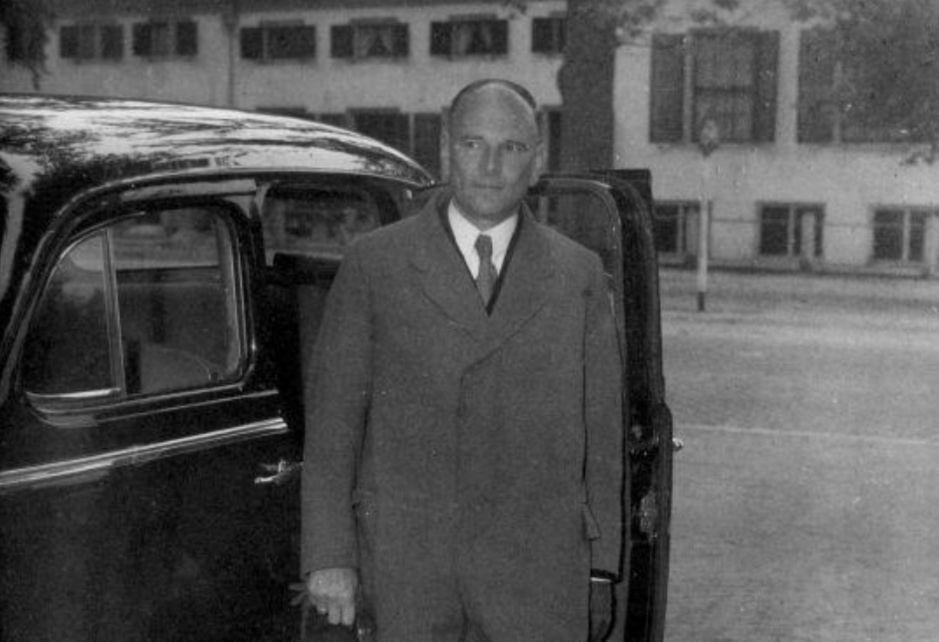 Marinus van der Goes van Naters (1900-2005). Bron: Wikimedia Commons/Collectie Spaarnestad photo/NA/Anefo/Raucamp