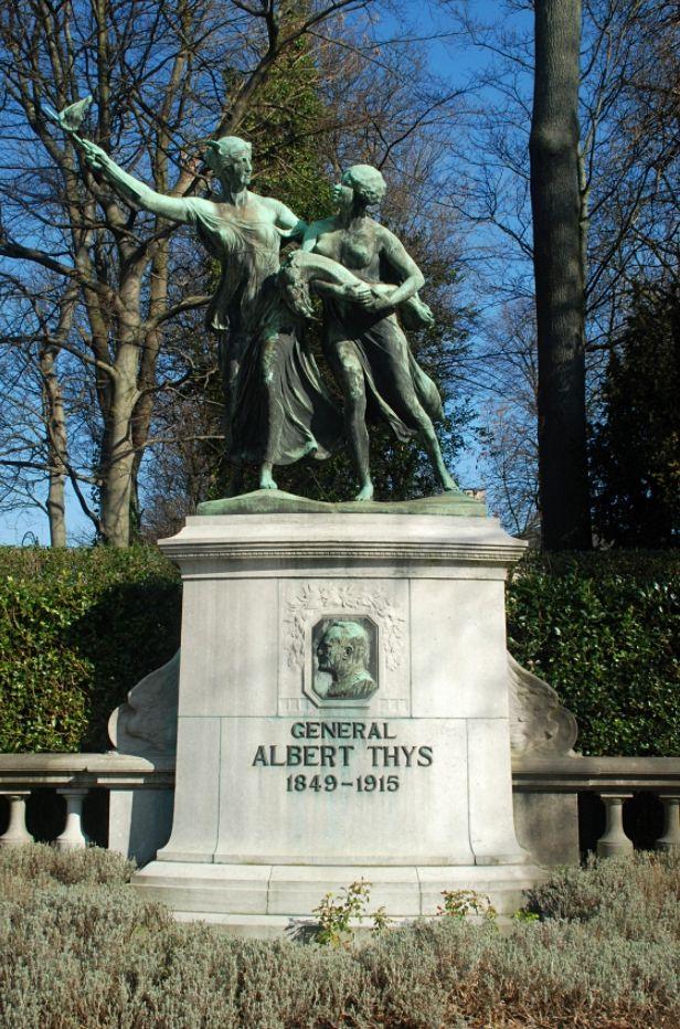 Monument voor generaal Thys in Brussel - cc