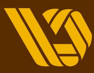 Oud logo van de V&D