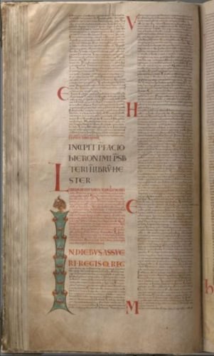 Pagina uit de Codex Gigas