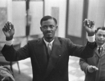 Patrice Lumumba in Brussel, 1960 (Harry Pot - GaHetNa (cc - Harry Pot - Nationaal Archief)