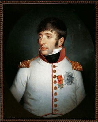 Portret van Lodewijk Napoleon