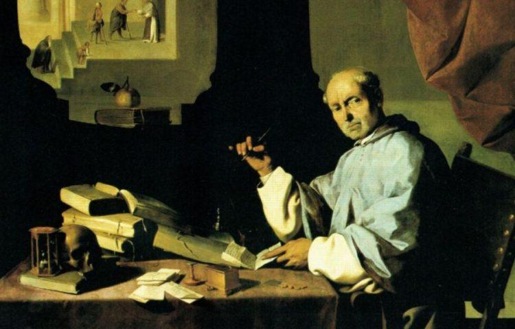 Schrijvende monnik - Monikkenwerk