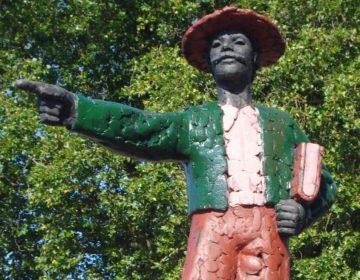 Standbeeld van Hendrik Hamel in Gorinchem