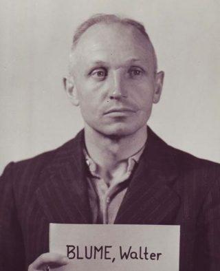 Walter Blume in Neurenberg (US Army)