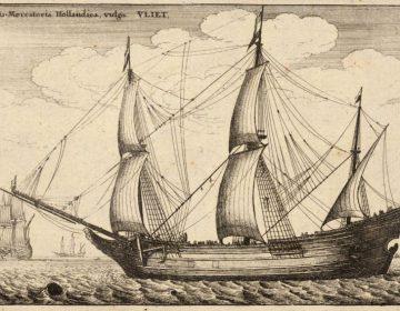 Oostzeehandel: de moedernegotie van de Republiek - Fluitschip (Wenceslaus Hollar - wiki)