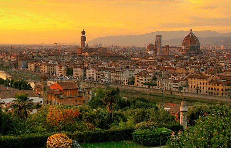 Zicht op Florence, een van de geboortesteden van de Renaissance - cc