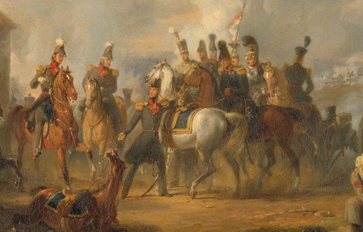 De slag bij Bautersem gedurende de Tiendaagse Veldtocht van augustus 1831. Nicolaas Pieneman, 183