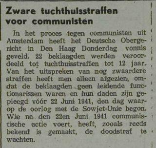 Zierikzeesche Nieuwsbode, september 1941