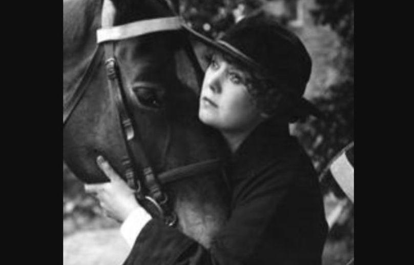 Annie Bos in de film Majoor Frans (1916) - wiki