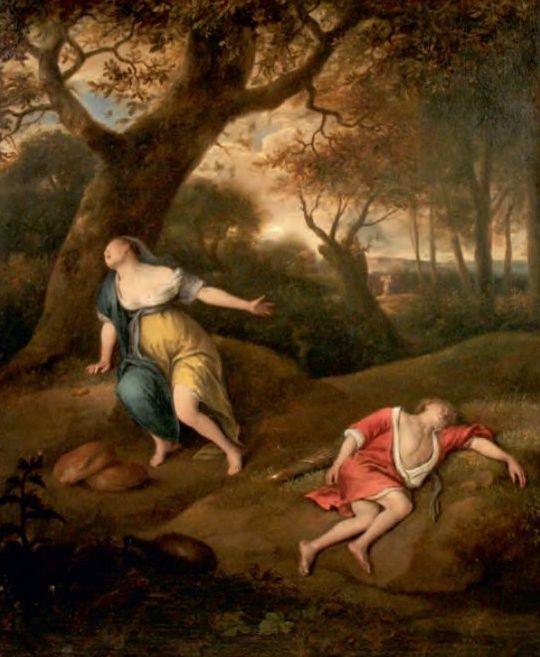 Jan Steen, Hagar en Ismaël in de wildernis, c.1650(?). Doek, 63 x 51,5 cm. The Fralin Museum of Art at the University of Virgina,  Charlottesville (Gift of Jack Kilgore, 1999)