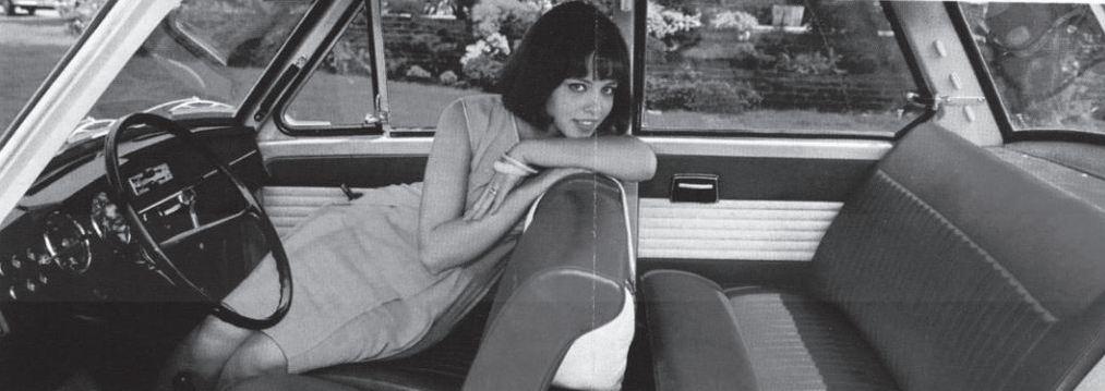 De vrouw als bijrijder, 1966. Bron: De Daf van mijn vader