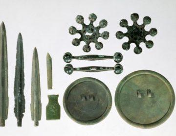 Voorwerpen uit de bronstijd die in Korea zijn gevonden (cc - wiki)