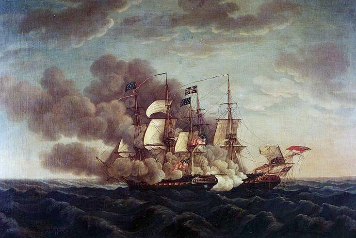 Continentaal Stelsel - Vernietiging van een Frans fregat