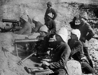 De geallieerden werden opgewacht door de Ottomanen (cc - Bundesarchiv)