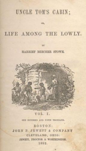 De negerhut van Oom Tom - Harriet Beecher Stowe