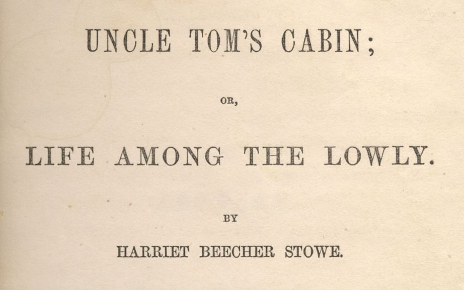 De negerhut van Oom Tom - Harriet Beecher Stowe
