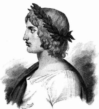 Fictief portret van de jonge Vergilius