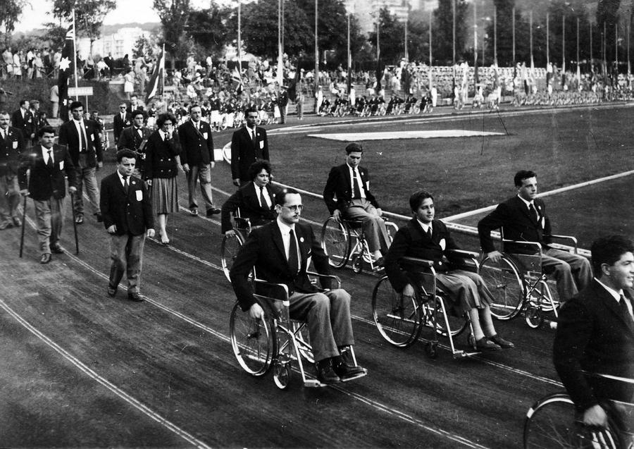 Openingsceremonie van de Paralympische Spelen van 1960