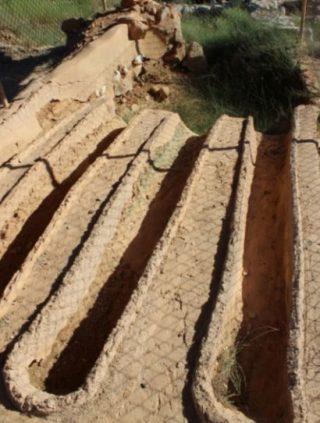 Restanten van een oude smeltoven op Kreta (Markoz - wiki)