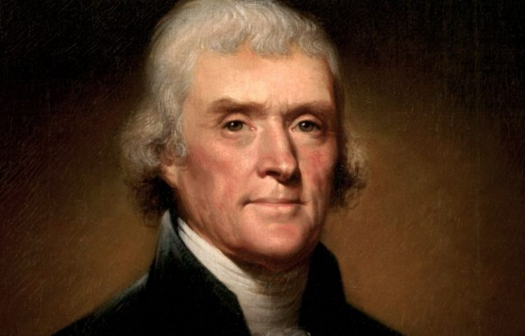 Thomas Jefferson (1743-1826) - President van Amerika