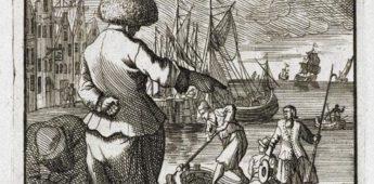 Luizenmoeder aan boord van een VOC-schip?