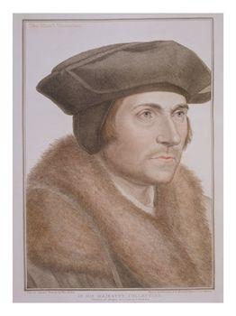 Tekening van Thomas More door Hans Holbein de Jongere