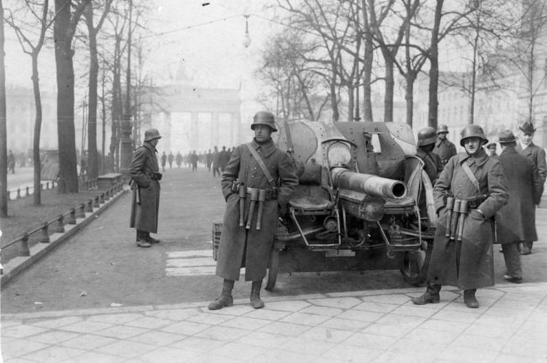 Kapp-Putsch, Brigade Erhardt (cc - Bundesarchiv)