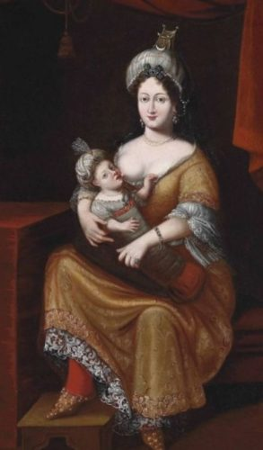 Kösem, moeder van de sultans Murat IV en Ibrahim I
