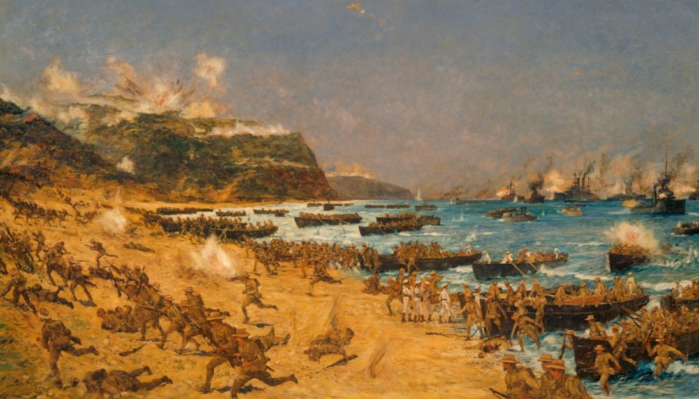 Slag om Gallipoli (1915-1916) - De Dardanellenveldtocht