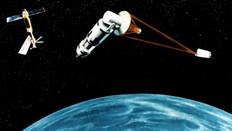 Het Star Wars programma - Concept van een verdedigingssatelliet (U.S. Air Force - wiki)