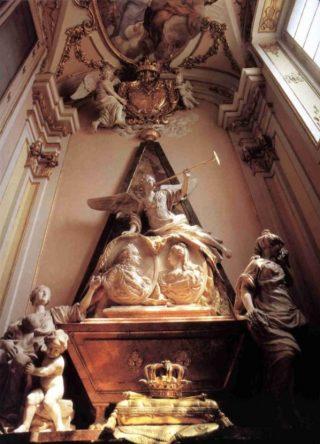 Tombe van Filips V en Elizabeth Farnese (wiki)