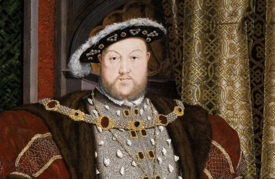 Koning Hendrik VIII - Portret door Hans Holbein de Jonge