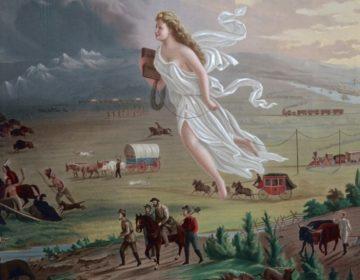 Manifest Destiny - ''American Progress', een schilderij uit 1872 van John Gast over de Amerikaanse vooruitgang