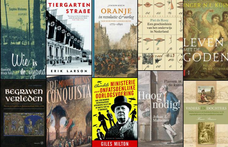 Nieuwe geschiedenisboeken (week 10) - 2018
