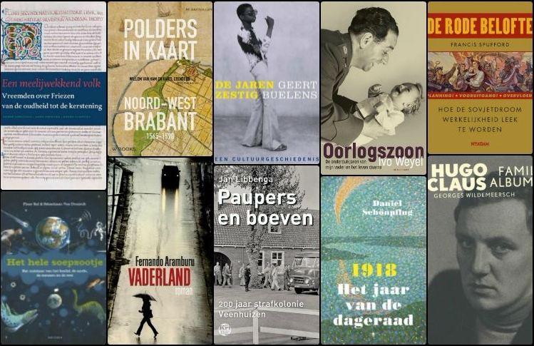 Nieuwe geschiedenisboeken (week 12) - 2018