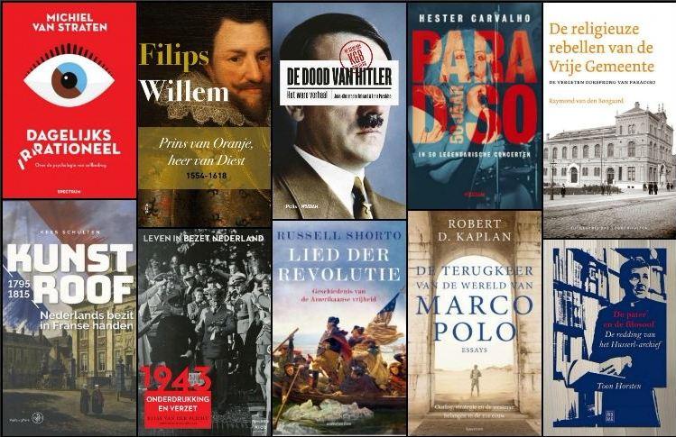 Nieuwe geschiedenisboeken (week 13) - 2018
