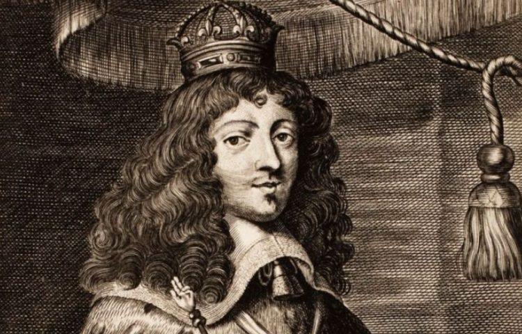 Absolutisme - Gravure van koning Lodewijk XIV